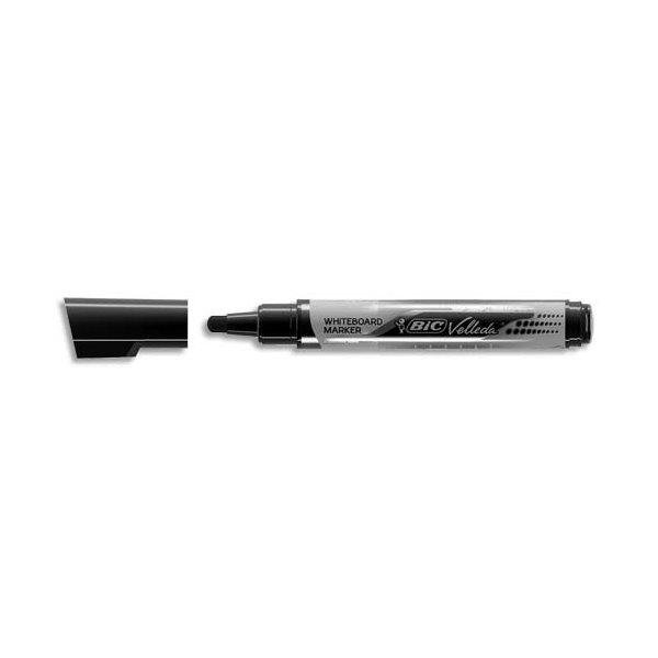 BIC Marqueur effaçable à sec VELLEDA Liquid' ink, encre liquide noire, pointe ogive large
