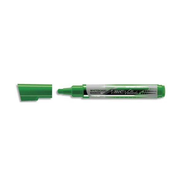 BIC Marqueur effaçable à sec VELLEDA Liquid' ink, encre liquide vert, pointe ogive large