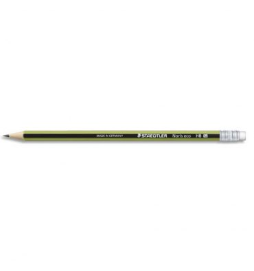 STAEDTLER Crayon bout gomme HB
