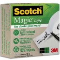 SCOTCH Ruban Scotch Magic Tape Recyclé en boîte individuelle, 19 mm x 30 m