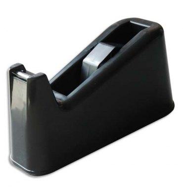 5 ETOILES Dévidoir de bureau noir avec base lestée