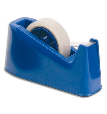 5 ETOILES Dévidoir de bureau bleu avec base lestée