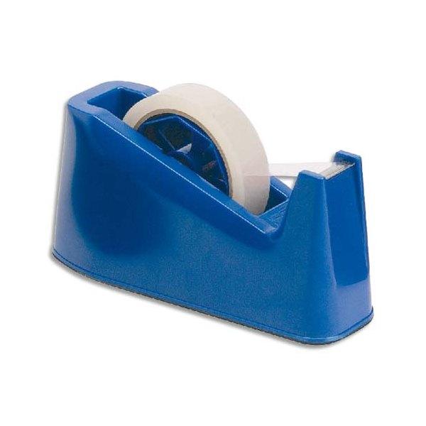 5 ETOILES Dévidoir de bureau bleu avec base lestée (photo)