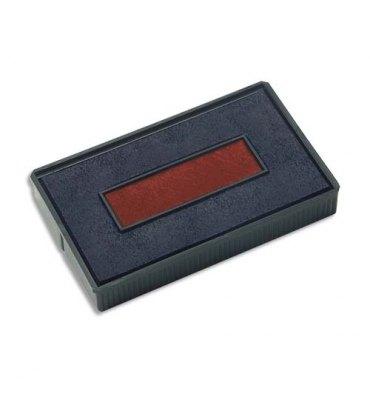 COLOP Lot de 5 recharges pré-encrées E200/2 bleu/rouge pour PRINTER série 200