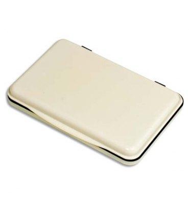 5 ETOILES Tampon encreur ré-encrable ABS, pour timbre caoutchouc ou résine L11 x P7 cm encre noire