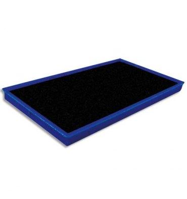 TIFLEX Recharge pour tampon encreur, feutre de 10 x 5,5 cm bleu