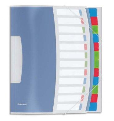 ESSELTE Trieur 12 touches gamme Vivida multicolore