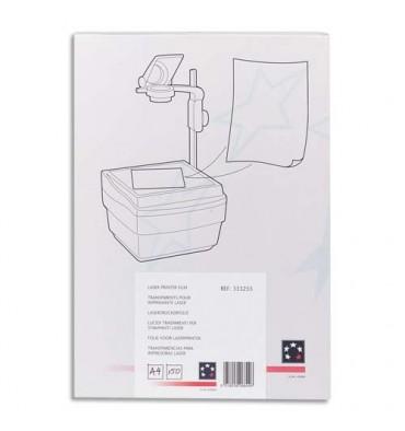 5 ETOILES Boîte de 100 transparents antistatiques pour photocopieur