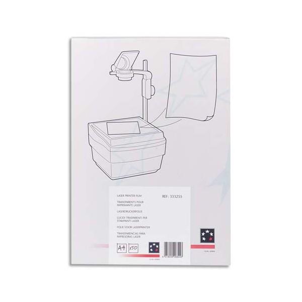 5 ETOILES Boîte de 100 transparents antistatiques pour photocopieur (photo)