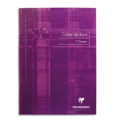CLAIREFONTAINE Carnet de notes des professeurs reliure piqûre 21 x 29,7 cm 44 pages
