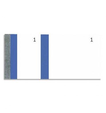 EXACOMPTA Blocs vendeur 100 feuillets 60 x 135 mm bleu