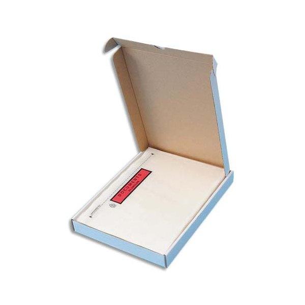 5 ETOILES Boîte de 100 Pochettes d'expédition document ci-inclus - Format C4 : 320 x 235 mm transparent (photo)