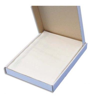 EMBALLAGE Boîte de 100 Pochettes document ci-inclus neutre - Format C5 : 225 x 165 mm transparent