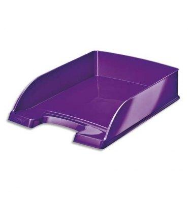 LEITZ Corbeille à courrier Leitz Plus - WOW violet métallisé