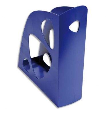 NEUTRE Porte-revues bleu - Polystyrène - Dos de 7,7 cm