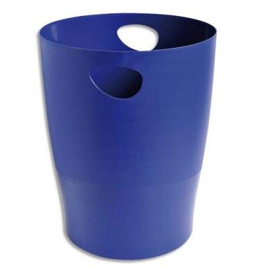 5 ETOILES Corbeille à papier 15 L bleue