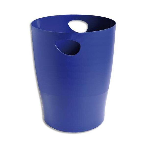 5 ETOILES Corbeille à papier 15 L bleue (photo)