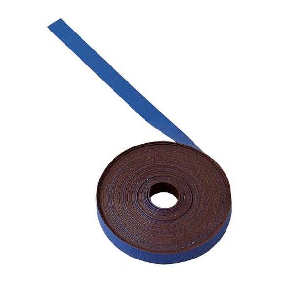 BI-OFFICE Ruban magnétique de 1 cm x 5 m bleu