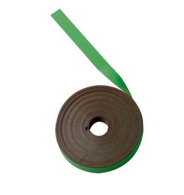 BI-OFFICE Ruban magnétique de 1 cm x 5 m vert