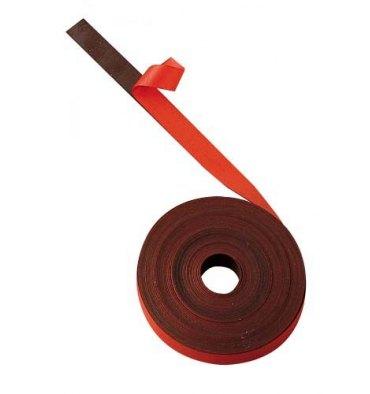 BI-OFFICE Ruban magnétique de 1 cm x 5 m rouge