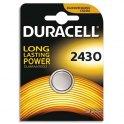 DURACELL Blister de 1 pile 2430 Lithium Duralock pour appareils électroniques