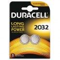 DURACELL Blister de 2 piles 2032 Lithium Duralock pour appareils électroniques