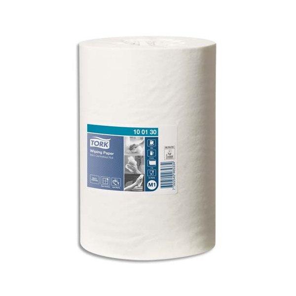 TORK Lot de 11 Bobines papier d'essuyage Plus à dévidage central M1 120 mètres, non prédécoupé blanc