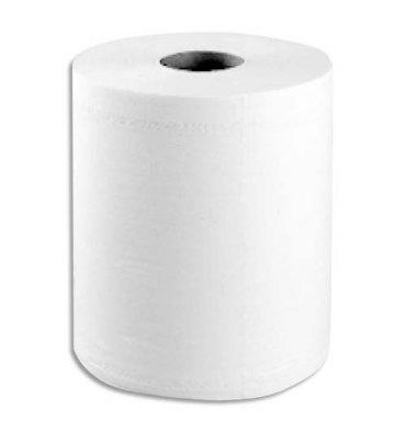 TORK Lot de 6 Bobines Maxi Reflex papier d'essuyage à dévidage central feuille à feuille 150 m 2 plis blanc