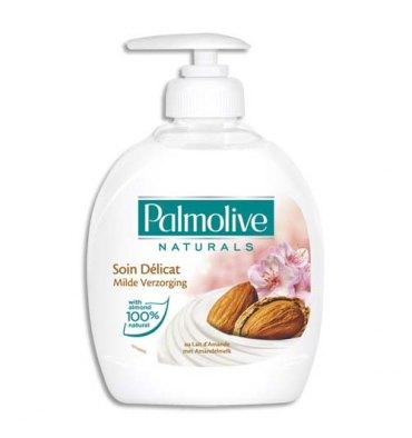 PALMOLIVE Flacon pompe 300 ml Savon liquide Naturals Soin Délicat PH Neutre