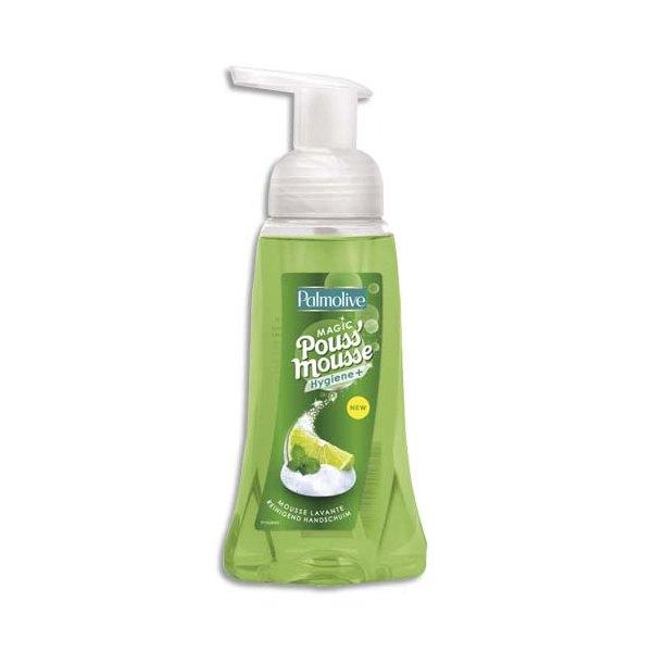 PALMOLIVE Flacon pompe 250 ml mousse lavante Pouss'Mousse volumineuse et compacte parfum Citronné