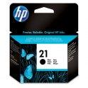 HP Cartouche jet d'encre N°21 coloris noir