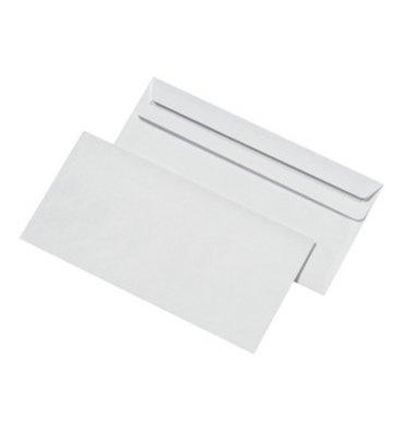 5 ETOILES Boîte de 500 enveloppes blanches autocollantes 80g format 110 x 220 mm DL