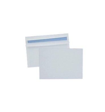 5 ETOILES Boîte de 500 enveloppes blanches autocollantes 80g format 162 x 229 mm C5