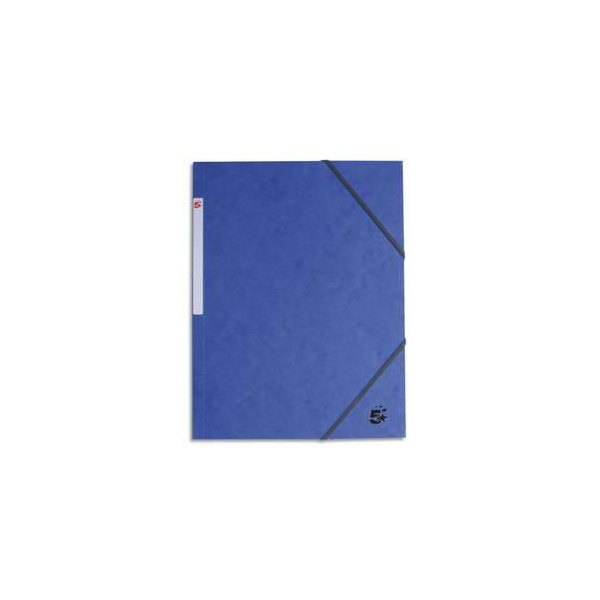 5 ETOILES Chemise 3 rabats et élastique en carte bleu foncé (photo)