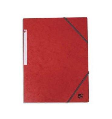 5 ETOILES Chemise 3 rabats et élastique en carte rouge