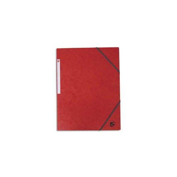5 ETOILES Chemise 3 rabats et élastique en carte rouge (photo)