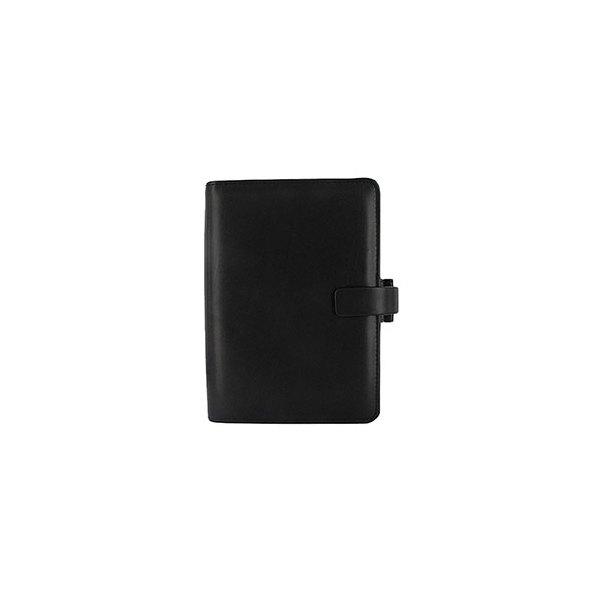 FILOFAX Organisateur METROPOL 13,5 x 19 cm (format PERSONAL). En simili cuir noir