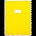 ELBA Protège-cahier 24 x 32 cm Strong Line Opaque 15/100e + renforcés (30/100e). Coloris jaune