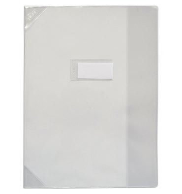ELBA Protège-cahier 24 x 32 cm Strong Line cristal + renforcés 30/100e. Coloris incolore