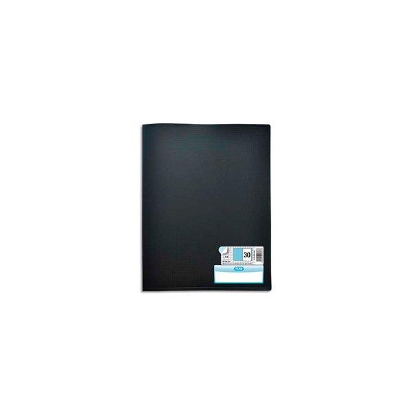 OXFORD Protège-documents en polypropylene Memphis 60 vues, 30 pochettes, coloris noir