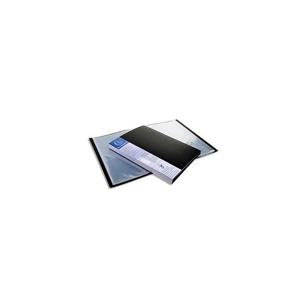 EXACOMPTA Protège-documents UP-LINE polypropylène, 20 pochette, 40 vues, noir