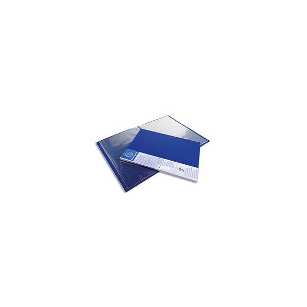 EXACOMPTA Protège-documents UP-LINE polypropylène, 40 pochettes 80 vues, bleu