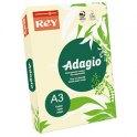 REY BY PAPYRUS Ramette de 500 feuilles papier couleur ADAGIO 80g A3 ivoire pastel