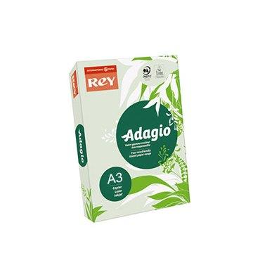 REY BY PAPYRUS Ramette de 500 feuilles papier couleur ADAGIO 80g A3 vert