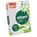 REY BY PAPYRUS Ramette de 500 feuilles papier couleur ADAGIO copieur, laser, jet d'encre 80g format A4 gris