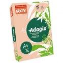REY BY PAPYRUS Ramette de 500 feuilles papier couleur ADAGIO copieur, laser, jet d'encre 80g A4 nectarine