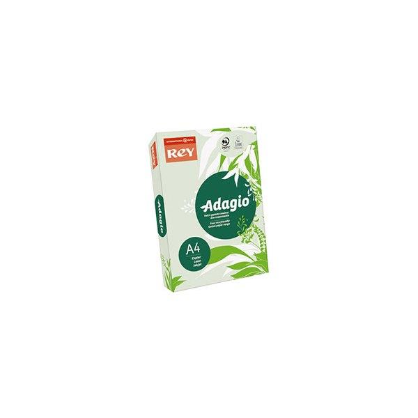 REY BY PAPYRUS Ramette de 500 feuilles papier couleur ADAGIO copieur, laser, jet d'encre 80g A4 vert pastel
