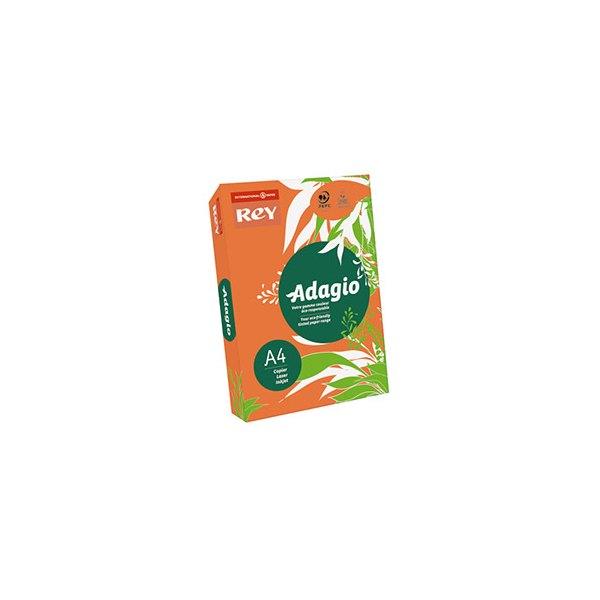 REY BY PAPYRUS Ramette 500 feuilles papier couleur ADAGIO+ copieur, laser, jet d'encre 80g