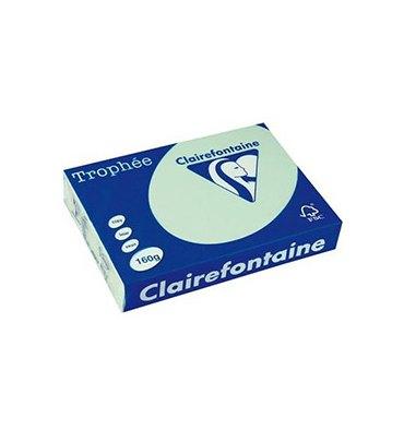 CLAIREFONTAINE Ramette de 250 feuilles papier couleur TROPHEE 160g A4 vert