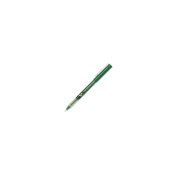 PILOT Stylo roller pointe tubulaire 0,7 mm encre liquide verte HI-TECPOINT BX-V7